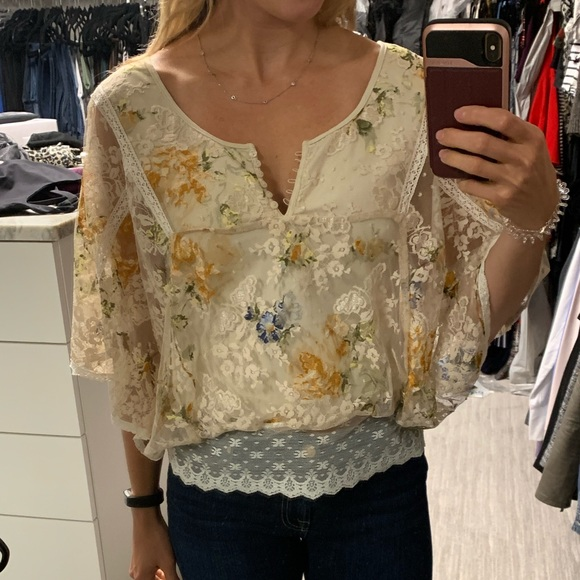 Free People Tops - Free People lace top